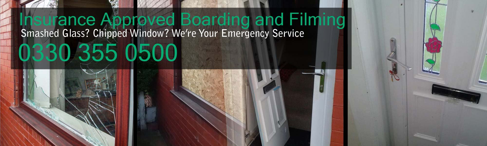 Insurance Approved Boarding and Filming
